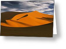 African Dunes Greeting Card