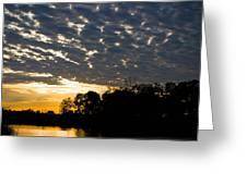 African Sunrise 3 Greeting Card