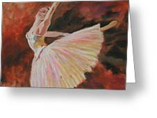 After Degas Greeting Card