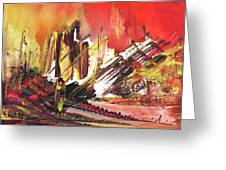 After The Earthquake Greeting Card