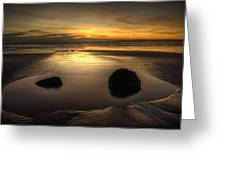 After Tide Out Greeting Card
