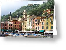 Afternoon In Portofino Greeting Card