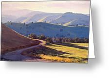 Afternoon Light Kanimbla Valley Greeting Card