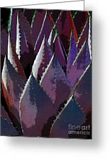Agave Deep Fire Greeting Card