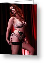 Age-old Art Of Burlesque Greeting Card