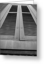 Aged Shutters Greeting Card