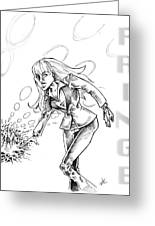 Agent Dunham Greeting Card by Big Mike Roate