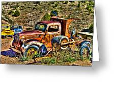 Aging Truck Greeting Card