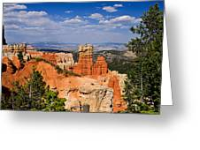 Agua Canyon Bryce Canyon National Park Greeting Card