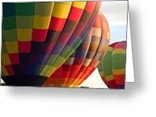 Air Balloon Last Call Greeting Card