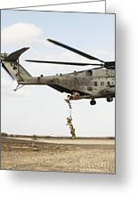 Air Force Pararescuemen Conduct Greeting Card