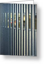 Airport Jetway Greeting Card