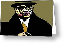 Al Capone Full Color Greeting Card