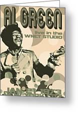 Al Green Poster Greeting Card