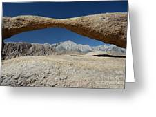 Alabama Hills Arch Greeting Card