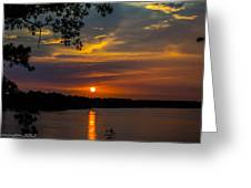 Alabama Sunset Greeting Card