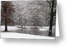 Alabama Winter Wonderland Greeting Card