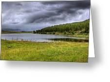 Alaki Lake Near Eureka Greeting Card
