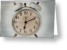 Alarm Clock Greeting Card