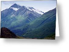 Alaska Range 1 Greeting Card