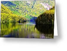 Alaskan Reflection Greeting Card