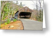 Albany Covered Bridge Greeting Card