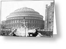Albert Hall In London - England - C 1904 Greeting Card