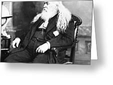 Albert Pike (1809-1891) Greeting Card