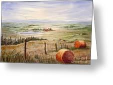 Alberta Foothills Greeting Card