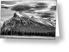 Alberta Rockies Greeting Card