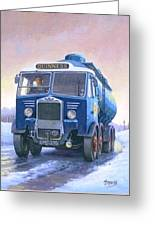 Albion Tanker. Greeting Card