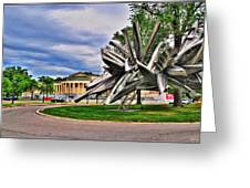 Albright Knox Art Gallery Greeting Card
