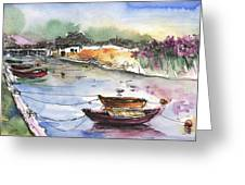 Albufera De Valencia 11 Greeting Card