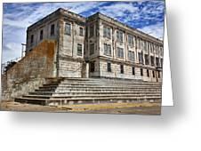 Alcatraz Cellhouse  Greeting Card