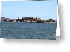 Alcatraz Island In San Francisco California . West Side . 7d14007 Greeting Card