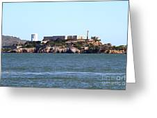 Alcatraz Island In San Francisco California . West Side . 7d14031 Greeting Card by Wingsdomain Art and Photography