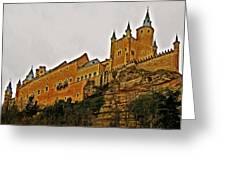 Alcazar De Segovia - Spain Greeting Card