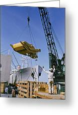 Alcoa Ship Destines For South America Greeting Card