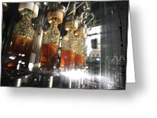 Alcoholic Drinks Production, Russia Greeting Card