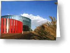 Alcorcon Arts Creation Centre Greeting Card by Carlos Dominguez