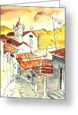 Alcoutim In Portugal 06 Greeting Card