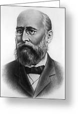 Alexander Butlerov, Russian Chemist Greeting Card
