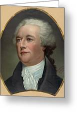 Alexander Hamilton Greeting Card