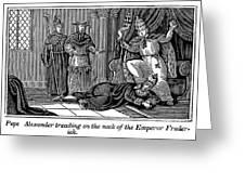 Alexander IIi (d. 1181) Greeting Card