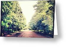 #alexandrapalace #alexandrapark #park Greeting Card