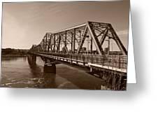 Alexandria Bridge Greeting Card
