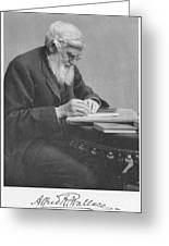 Alfred Russel Wallace Greeting Card by Science Source