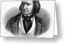 Alfred Victor De Vigny Greeting Card