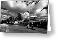 Algonquin Gas Station Greeting Card