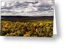 Algonquin Park Panorama Greeting Card